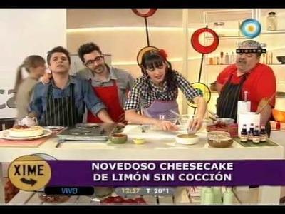 Increíble cheesecake de limón sin cocción!!