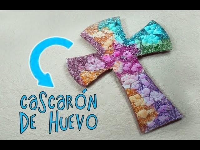 MANUALIDADES  CASCARÓN DE HUEVO