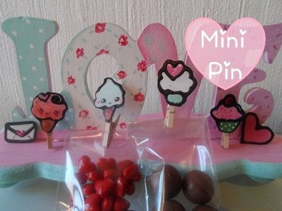 Mini pin de acetato ♥ [Especial de San Valetín 3]
