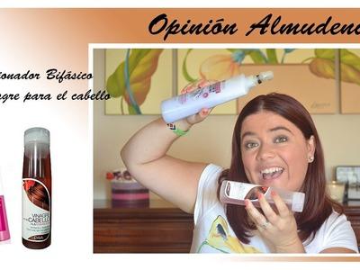 Opinin Almudenil - Acondicionador Bifasico y Vinagre para el cabello Deliplus
