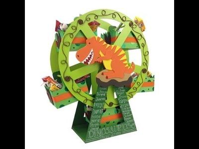 Rueda de la fortuna de Dinosaurio