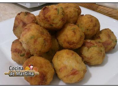 Bolitas de arroz   Recetas de cocina   Cocina de Martina