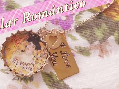 Collar de chapa romántico y otras dos ideas de reciclaje