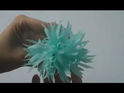 Cómo hacer una flor de papel | facilisimo.com