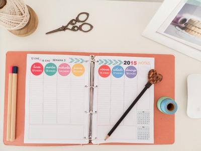 Cómo organizar tu agenda. Tips