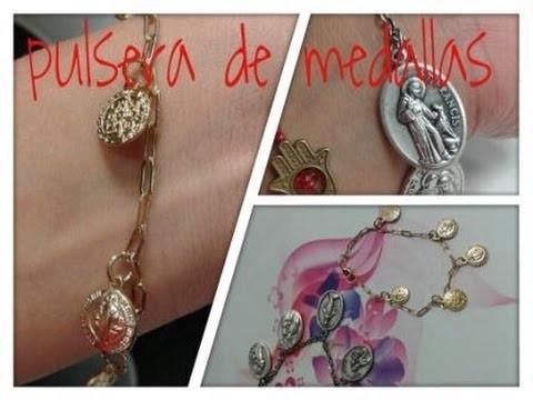 [DÍA DE LAS MADRES] DIY Pulsera de medallas. Bracelet medals