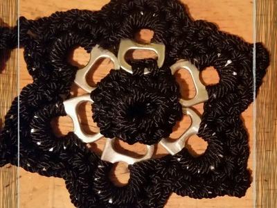 DIY : Flor de anillos de lata