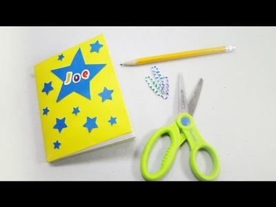 Episodio #571- Cómo decorar un cuaderno para niños con estrellitas