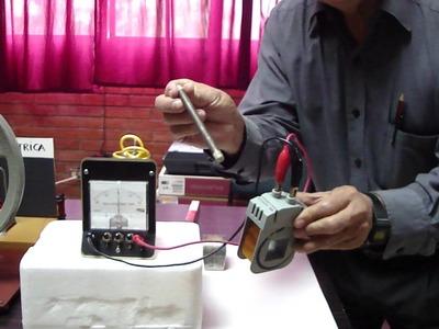 LA CORRIENTE ELÉCTRICA - PRINCIPIO DE FARADAY-actualización solicitada-