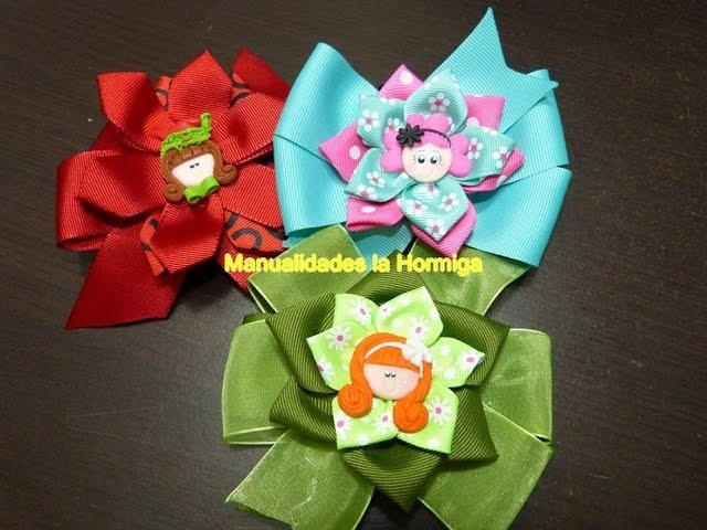 Moños faciles para cualquier ocasion. ribbons for easy hair