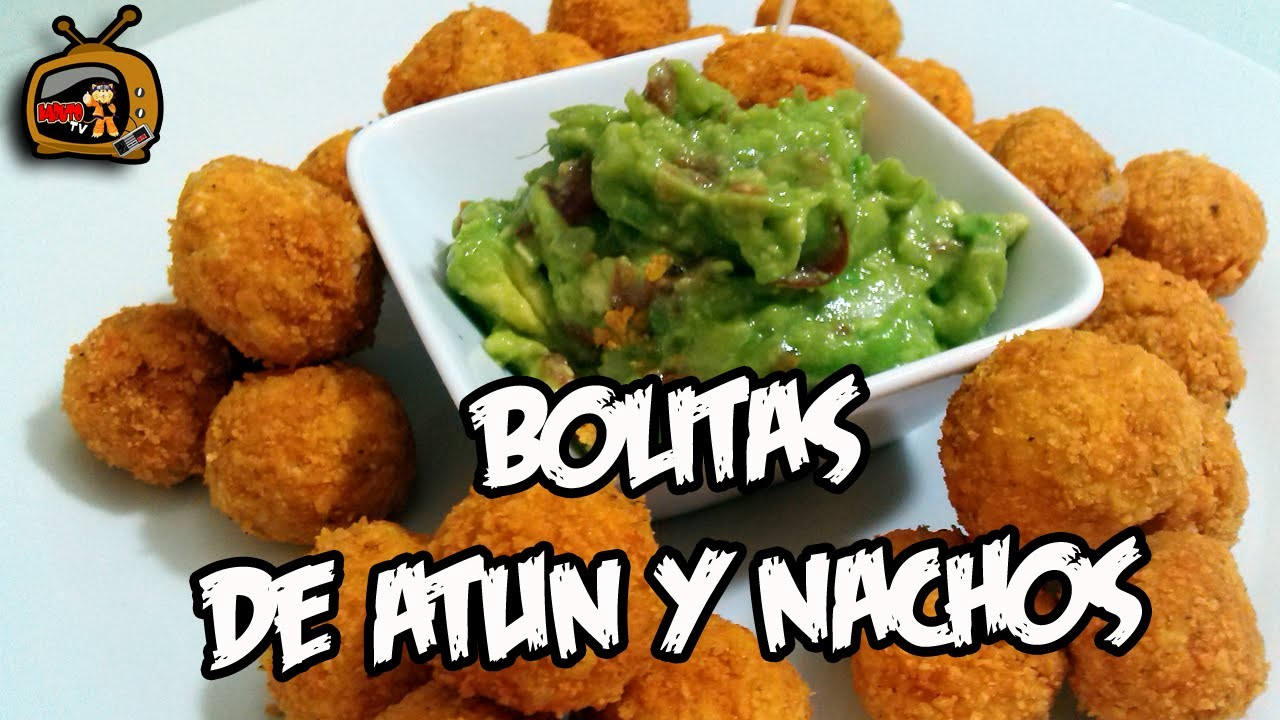 Receta de Bolitas de atún y nachos
