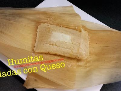 RECETA: HUMITAS SALADAS C. QUESO (fácil y delis de puro maíz!)