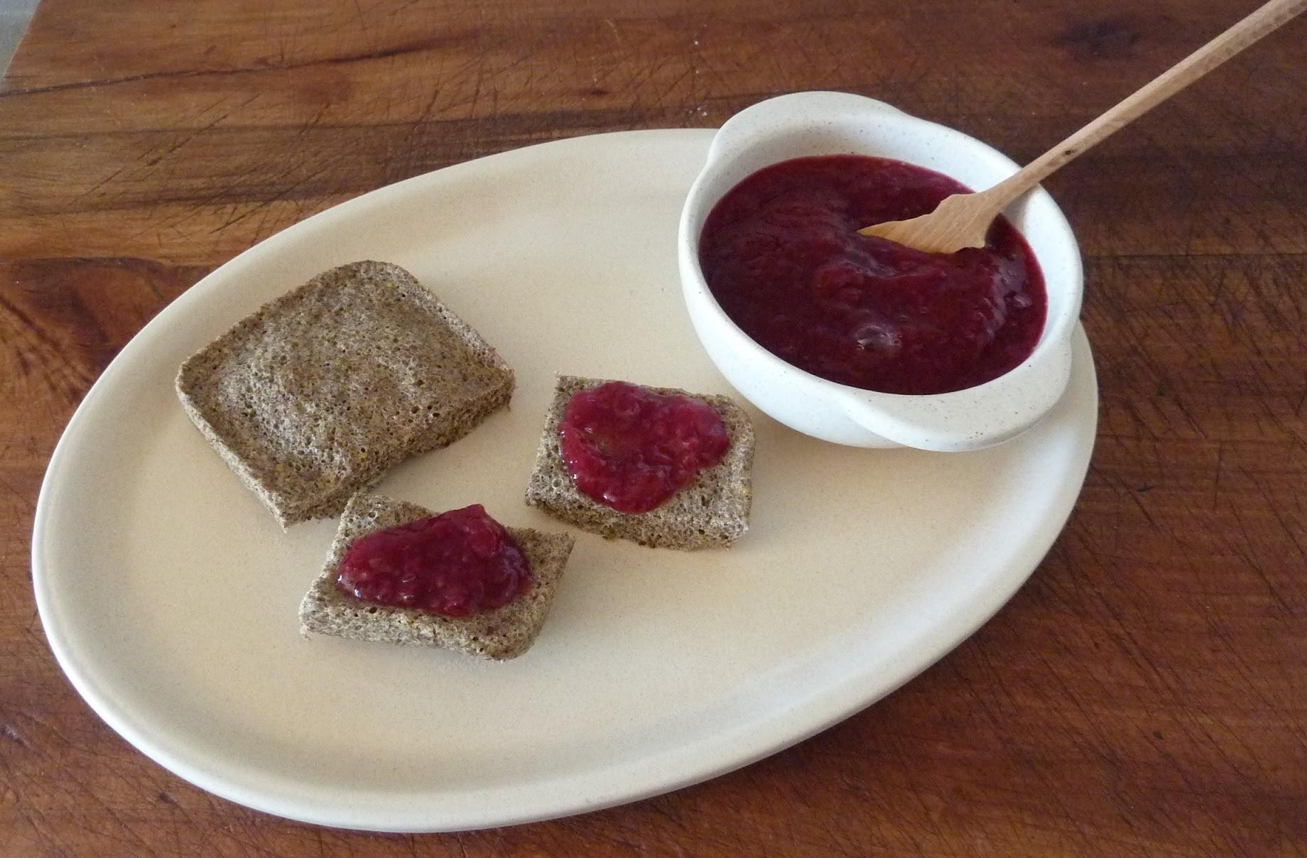 [Receta] Pan de Linaza en menos de 5 minutos [Sin Gluten ni leche] (en microondas) Flax seed bread