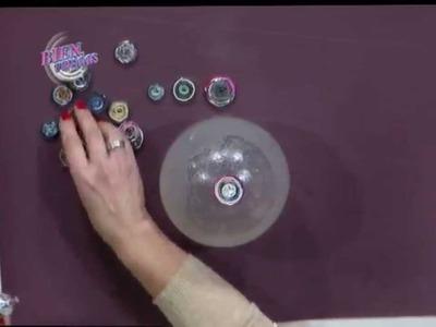 Silvina Buquete - Bienvenidas TV en HD - Realiza una lámpara globo en cestería.