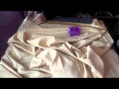 Cómo coser una cortina sencilla - La receta de la abuelita