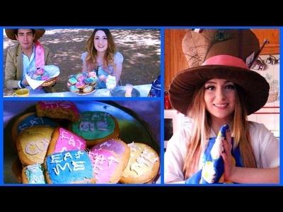 Cómo hacer Galletas de Alicia en El País de Las Maravillas!!! Receta Fácil - Raiza Revellos