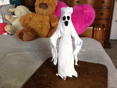 Como hacer un disfraz de fantasma para tus muñecos.