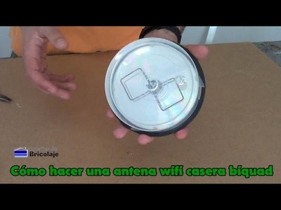 Cómo hacer una antena wifi casera biquad