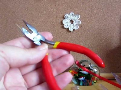 Como prepara el alicate para  no daña el alambre de aluminio