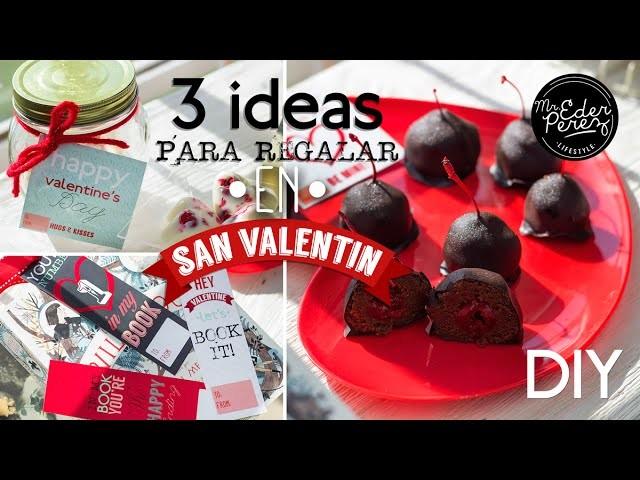 DIY 3 IDEAS DE REGALOS ORIGINALES PARA SAN VALENTIN