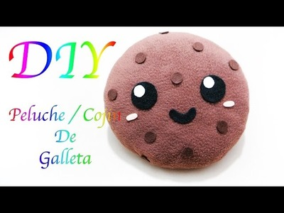 GALLETA. COOKIE KAWAII | PELUCHE. PLUSHIE | COJÍN. CUSHION | FÁCIL | DIY - YuureYCrafts