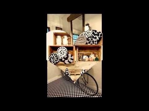 Manualidades para decorar el baño con materiales reciclados