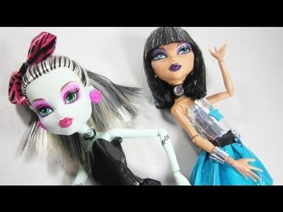 Manualidades para muñecas: Cómo hacer ropa con cinta adhesiva para muñecas
