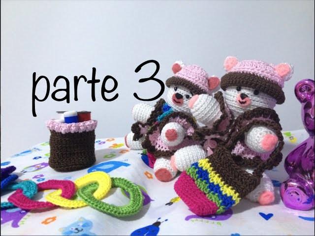 Oso tejido parte 3 #Amigurumis #Ganchillo #Crochet Teddy Bear DIY