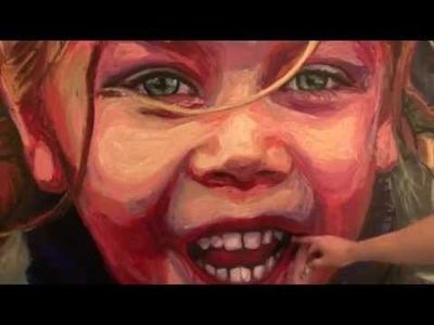 Pintar un retrato con Oilbar Winsor & Newton | totenart.com