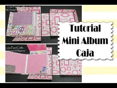Tutorial Mini Album Caja - Video Petición