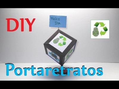 93. DIY MARCO PARA FOTOS (RECICLAJE DE CAJAS DE CEREALES)