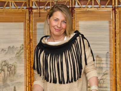 Bufanda o Fular de Flecos de Moda sin Coser para Invierno y Verano
