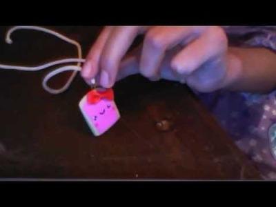 Como hacer tostada kawaii de arcilla polimerica XD