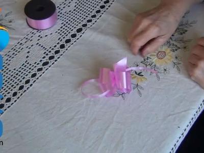 Cómo hacer un lazo de cinta