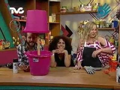 Cómo hacer una Cubeta Hielera con Vivian (EC)