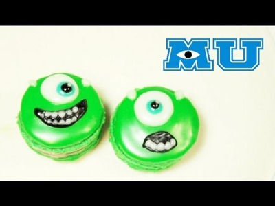 ➫ Macarrones Franceses de Mike Wazowski ♡ (Monsters University) - Miranda Ibañez