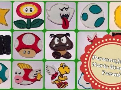 Personajes De Mario Bros En Foami