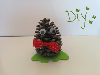 Piña decoracion de navidad, Manualidades, DIY. christmas ornaments.