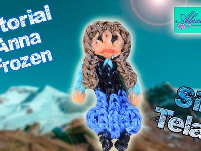 ♥ Tutorial: Anna de Frozen de gomitas (sin telar) ♥