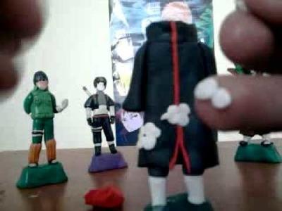 Tutorial de como hacer una figura de Akatsuki :)