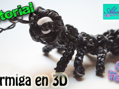 ♥ Tutorial: Hormiga en 3D de gomitas (sin telar) ♥