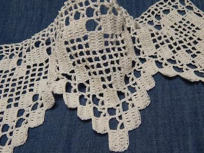 Orilla # 13 de Corazones Crochet parte 1 de 2