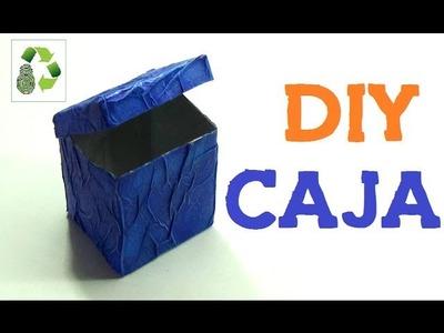 108. DIY CAJA (RECICLAJE DE TETRABRICK)
