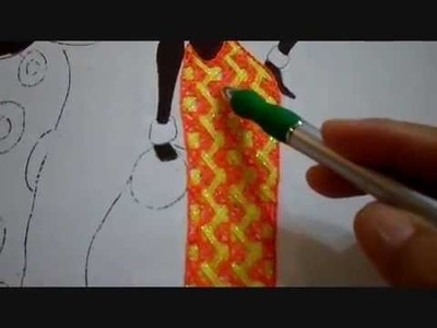 Bordado Fantasia Falda Africana # 1