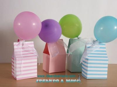 Cómo hacer cajas de dulces para fiestas