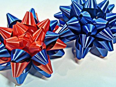 Cómo hacer lazos moños para regalo. Ties for gift