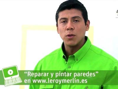 Cómo pintar con compresor (Leroy Merlin)