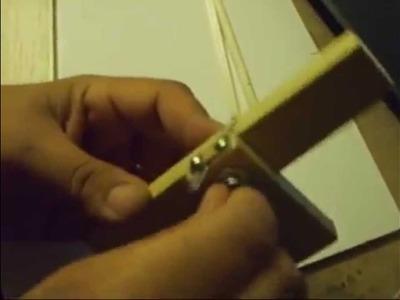 Cortador madera balsa (homemade balsa strips cutter)