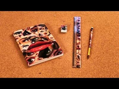 Decora Tus Cuadernos, Tus Lápices, Tus útiles de la Escuela - Manualidades - Hazlo Tú Mismo - DIY
