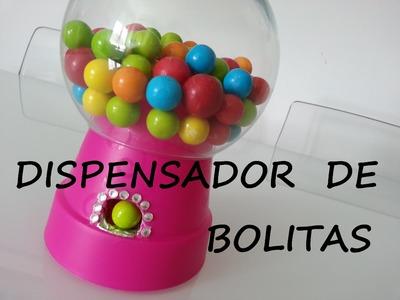 DISPENSADOR DE BOLITAS